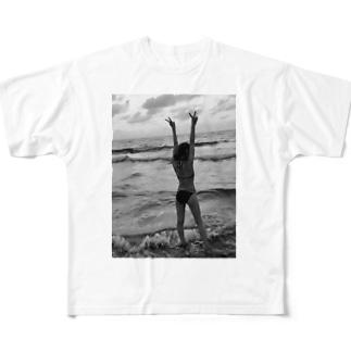 プリント Full graphic T-shirts