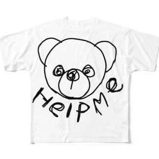 たすけて Full graphic T-shirts