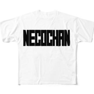 NECOCHAN Full graphic T-shirts