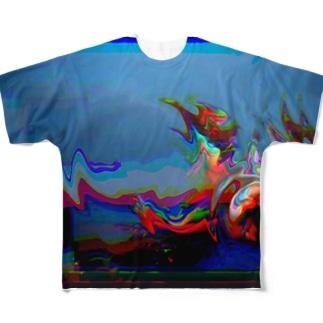 Glitches01 Full graphic T-shirts
