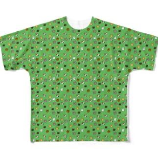 NEKO フルグラフィックTシャツ