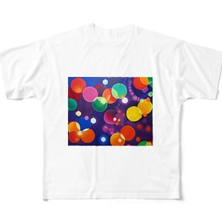 HAPPY HOLiDAYS Full graphic T-shirts