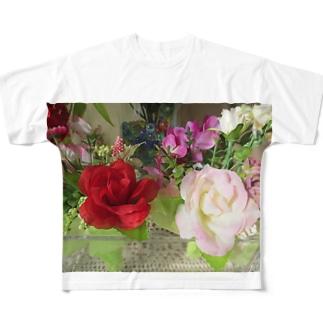良い香りがしそうNo.4 Full graphic T-shirts