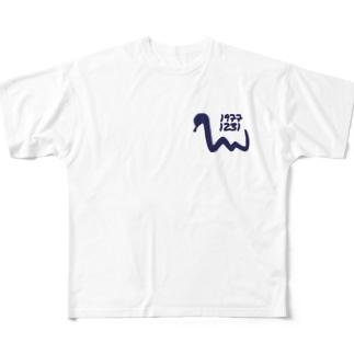 巳年 Full graphic T-shirts