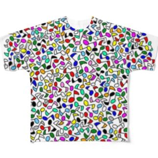 オンタマ【コンガラガル画003】 Full graphic T-shirts