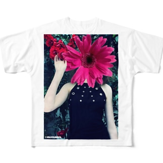 Flower Tee Full graphic T-shirts