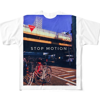 Stop motion Full graphic T-shirts