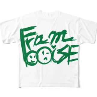 フランボワーズ Full graphic T-shirts