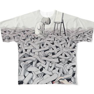 スランプ Full graphic T-shirts