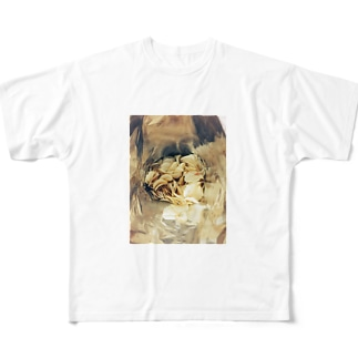 ポテチトンネル Full graphic T-shirts