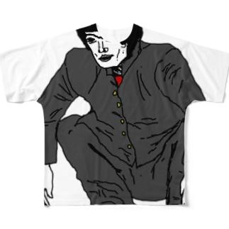 何かが違う不良01 Full graphic T-shirts