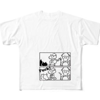 neko★69 (Fuck!) Full graphic T-shirts