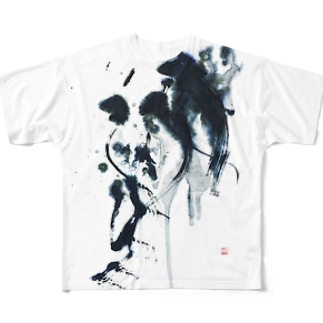 Les Larmes des Anges天使の涙 Full graphic T-shirts