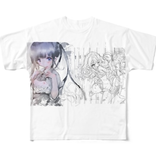 きがえ Full graphic T-shirts