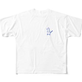 鳥類の先祖様 Full graphic T-shirts