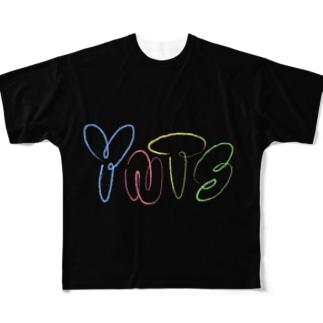 やきにくていしょく Full graphic T-shirts