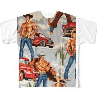 カウボーイズ Full graphic T-shirts