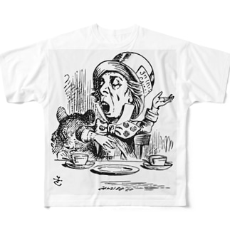 マッドハッター Full graphic T-shirts