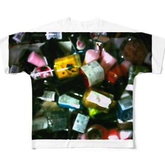 オシャレはつま先から Full graphic T-shirts