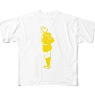 チャクシンナシ Full graphic T-shirts