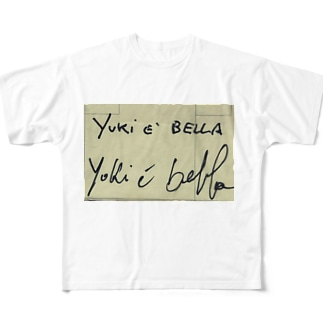 yuki e bella   Full graphic T-shirts