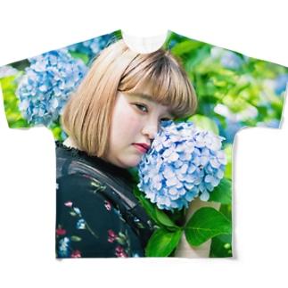 yurina フルグラフィックTシャツ
