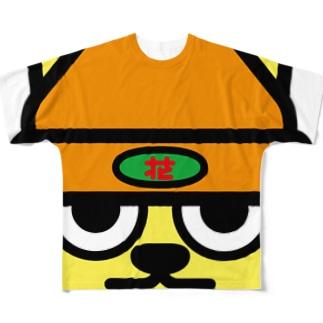 パ紋No.3272 花 Full graphic T-shirts