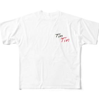 下ネタ Full graphic T-shirts