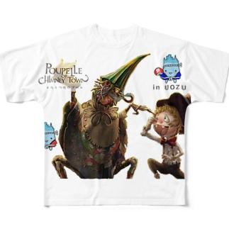 えんとつ町のプペルIN魚津 Full graphic T-shirts