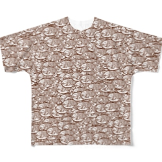 たい焼きINSANITY Full graphic T-shirts