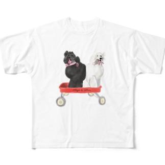 natsuki108のアンジー リリエン Full graphic T-shirts