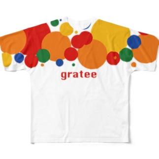 grareeオリジナル Full graphic T-shirts