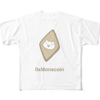 0xMonacoin Tシャツ Full graphic T-shirts