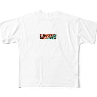花曇り Full graphic T-shirts