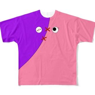 キャッティー07075 Full graphic T-shirts