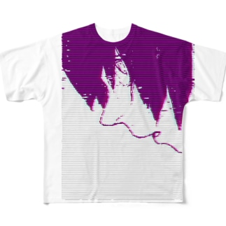 悪少年 Full graphic T-shirts