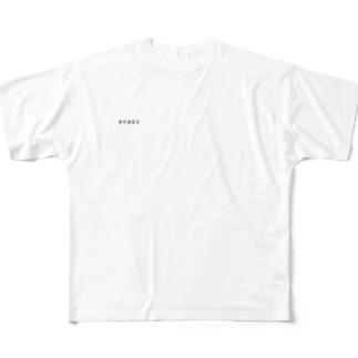 東京通信社 Full graphic T-shirts