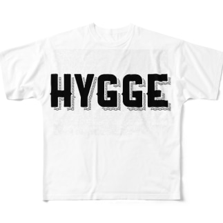 HYGGEシリーズ Full graphic T-shirts