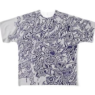 RYUGAN Full graphic T-shirts