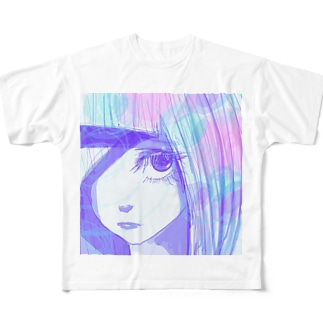 片目女 Full graphic T-shirts