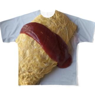おむらいす Full graphic T-shirts