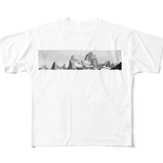 Fitz Roy Full graphic T-shirts