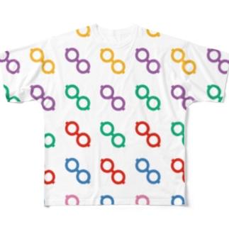 眼鏡T Full graphic T-shirts