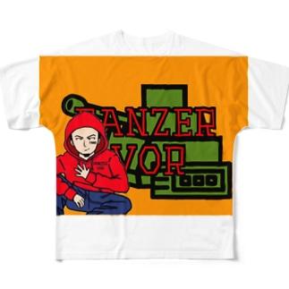 たろ〜ちゃん Full graphic T-shirts