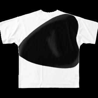 あおママの胸当てつけっぱなしTシャツ Full graphic T-shirts