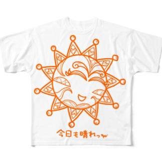 太陽 Full graphic T-shirts