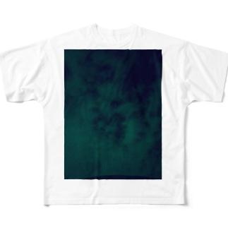 不思議 空 Full graphic T-shirts