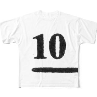 no.10 フルグラフィックTシャツ