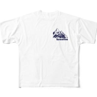 キャンプ用 Full graphic T-shirts