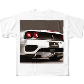 イケてる高級車グッズ Full graphic T-shirts